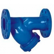 Flange end Y type Strainer