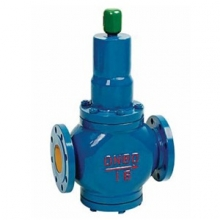 Spring plunger reducing valve