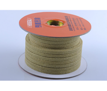 Kevlar Fiber Packing Braided With PTFE