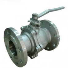 Floating flange ball valve
